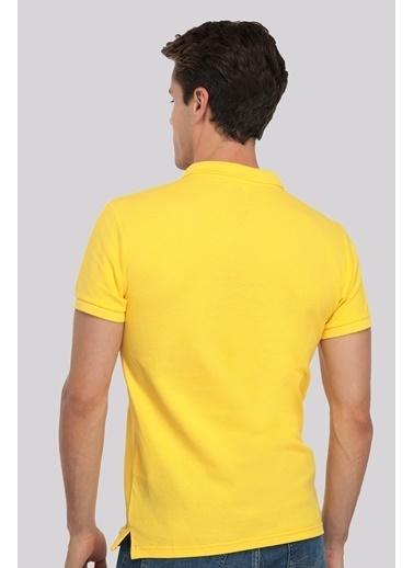 D'S Damat Regular Fit T-Shirt Sarı